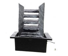 LED Zimmerbrunnen Fels | Leiterform | 1,5m Kabel