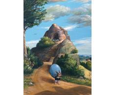 Postkarte A6 • 13949 Ach, du dickes Ei von Inkognito • Künstler: Ernst Kahl • Ostern