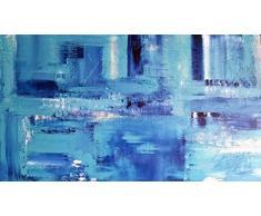 Handmade Acrylgemälde Blue