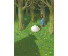 Postkarte A6 • 15043 Dickes Ei von Inkognito • Künstler: Michael Sowa • Ostern