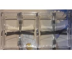 RDI Tischtuchklammer Tischdeckenklammer Tischtuch Klammern Halter 4 Stück Klar