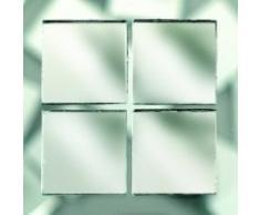 MosaixPro 20 x 20 x 3 mm 200 g 72 Spiegel Fliesen, Silber