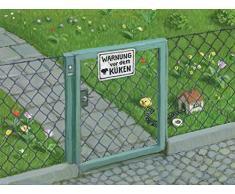 Postkarte A6 • 15088 Warnung vor dem Küken von Inkognito • Künstler: Michael Sowa • Fantastik • Ostern