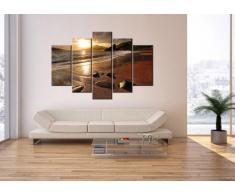Bild auf Leinwand - Leinwandbilder - fünf Teile - Breite: 150cm, Höhe: 100cm - Bildnummer 2527 - fünfteilig - mehrteilig - zum Aufhängen bereit - Bilder - Kunstdruck - EA150x100-2527