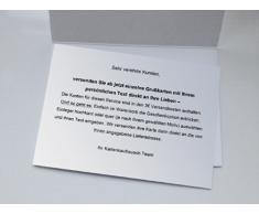 Fröhliche Osterkarte mit Comic Osterhasen und nettem Spruch • auch zum direkt Versenden mit ihrem persönlichen Text als Einleger.
