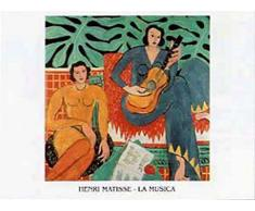 1art1 41258 Henri Matisse - La Musica, Die Musik I Poster Kunstdruck 70 x 50 cm