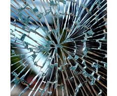 Fenster Splitterschutz Folie 100 x 152cmSicherheitsfolie Splitterschutzfolie Einbruchschutzfolie Fensterfolie Folie