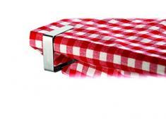 Tescoma Premium Tischtuchklammer 4er Set aus rostfreiem Stahl