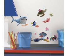 RoomMates RMK2059SCS RM - Disney Findet Nemo Wandtattoo, PVC, Bunt, 29 x 13 x 2.5 cm