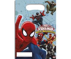 NEU Partytüte Spiderman & Team, 6 Stück