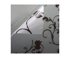 Beyond Drape Fensterfolie Verschiedene Größen und Motive Sichtschutzfolie Milchglasfolie Transparent statisch Tendril schwarz 45x200 cm