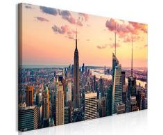 murando Mega XXXL New York Wandbild 170x85 cm - Einzigartiger XXL Kunstdruck zum Aufhängen Leinwandbilder Moderne Bilder Wanddekoration - NY City Stadt d-B-0235-ak-e