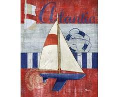 Paul Brent - Maritime Boat I Kunstdruck (60,96 x 76,20 cm)