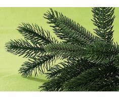 infactory Künstlicher Christbaum: Künstlicher Weihnachtsbaum, 180 cm, 1071 PE-Spitzen, mit Ständer, grün (Künstlicher Tannenbaum)