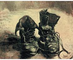 1art1 53338 Vincent Van Gogh - Stilleben, Ein Paar Schuhe, 1886 Poster Kunstdruck 50 x 40 cm