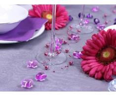 30 Dekosteine Herzen fuchsia pink 2,1 cm Streudeko Tischdekoration Hochzeit Taufe Weihnachten