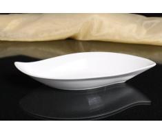 Allzweckschale Salatschale Porzellan weiß Servierschale Schale Dekoschale