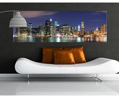 Apalis 42643 Leinwandbild Nummer 559 Manhattan In New York City, 120 x 40 cm