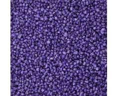 Dekogranulat / Dekosteine (2-3 mm), 1 kg, violett