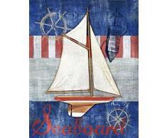 Paul Brent - Maritime Boat II Kunstdruck (60,96 x 76,20 cm)