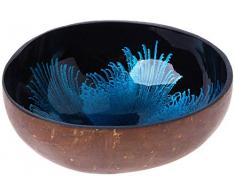 onvacay Coconut Bowl, Kokosnuss Schale Deko, Natur recycelt Kokosnussschale handgemacht, nachhaltig, lackiert