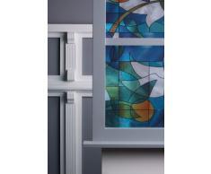 atFoliX Glasdekorfolie Bleiglas (Natur) (92 cm * 1 lfm)
