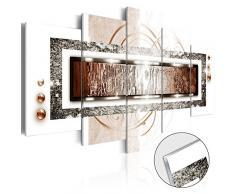 murando - Acrylglasbild Abstrakt 100x50 cm - 5 Teilig - Glasbilder - Wandbilder XXL - Wandbild - Bilder - Abstrakt a-A-0003-k-p