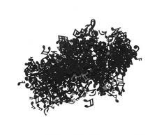 TOYANDONA Musiknote Konfettitisch Konfetti für musikalische Themen Babyparty Hochzeit Geburtstag Weihnachtsfeier Tisch Streuung 75g