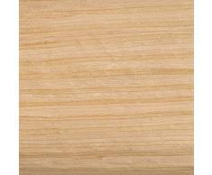 iDesign RealWood Serviettenringe (4-er Set) -Weiß/Helles Holz-Finish, Mehrfarbig