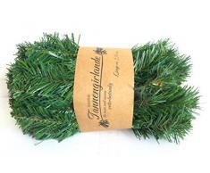 Schöne Tannengirlande grün ca. 270 cm Kunstblume Tanne Girlande Tannengrün