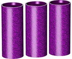 Violet-Edition Tischfeuerwerk im 3er-Pack.
