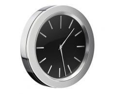Smedbo Time Badezimmeruhr Verchromt Mit Schwarzem Ziffernblatt Dm.: 60mm  YK380