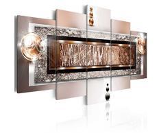 murando - Bilder 200x100 cm Vlies Leinwandbild 5 TLG Kunstdruck modern Wandbilder XXL Wanddekoration Design Wand Bild - Abstrakt 020101-216