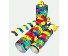 DS Luftschlangen Ballons, 18x10er Jumbo-Rolien = 180 Einzelrollen je 15m/14mm XL Breite, Lieferung Frei Haus