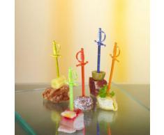 Schwert Picker Deko 7,0 cm Food Bowle Party (500)