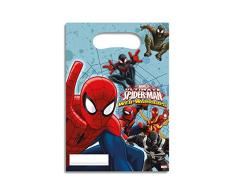 Procos Der ultimative Spiderman - 6 Partytüten