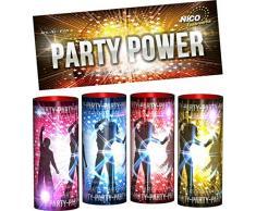 Nico Tischfeuerwerk 4er Beutel Party Power