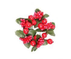 LPxdywlk Weihnachtsgirlande Kranz Faux Berry Tannenzapfen Hause Tür Hängen Ornament Dekor Fotografie Requisiten SNone