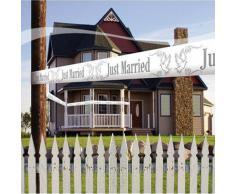 all4yourparty FOL210768(4) Absperrband Just Married, weiß