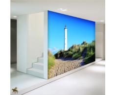 LanaKK - Maritim - Fototapete Poster-Tapete - edler Kunstdruck auf Vliestapete in 180x180 cm