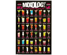 1art1 49075 Cocktails - Mixology Poster (91 x 61 cm)