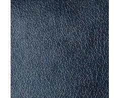 Neoxxim Selbstklebende PVC Lederfolie Lederoptik Folie Meterware Schwarz 50x152 cm Klebefolie Dekorfolie