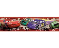 RoomMates RMK1516BCS RM-Disney Cars Piston Cup Bordüre Wandtattoo, bunt, 23.5 x 13 x 2.5 cm