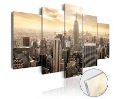 murando - Acrylglasbild New York 200x100 cm - 5 Teilig - Bilder Wandbild - modern - Decoration - Stadt City d-B-0006-k-m