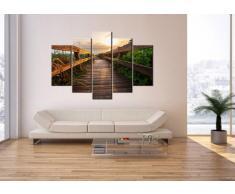 Bild auf Leinwand - Leinwandbilder - fünf Teile - Breite: 150cm, Höhe: 100cm - Bildnummer 2617 - fünfteilig - mehrteilig - zum Aufhängen bereit - Bilder - Kunstdruck - EA150x100-2617