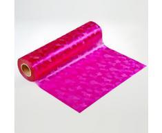 Artefact Dekofolie/Fensterfolie Fancy Pink | statisch haftend (ohne Kleber) | verschiedene Größen