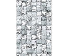 d-c-fix Glasdekorfolie, Fensterfolie, Sichtschutz, 95% UV-Schutz Static PREMIUM F334-0030 Nr.52 Ice Cube, grau 150 x 45cm