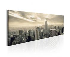 murando - Bilder New York 200x80 cm Vlies Leinwandbild 5 TLG Kunstdruck modern Wandbilder XXL Wanddekoration Design Wand Bild - Skyline NYC Stadt City Manhattan d-B-0081-b-o