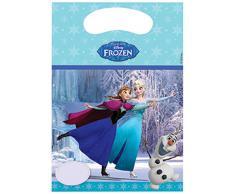 Frozen Ice Skating Partytüten Partybeutel Kindergeburtstag Anna Elsa Olaf