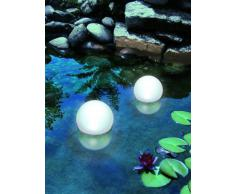 Süd Solar 02010 Solar Leuchtkugel weiß